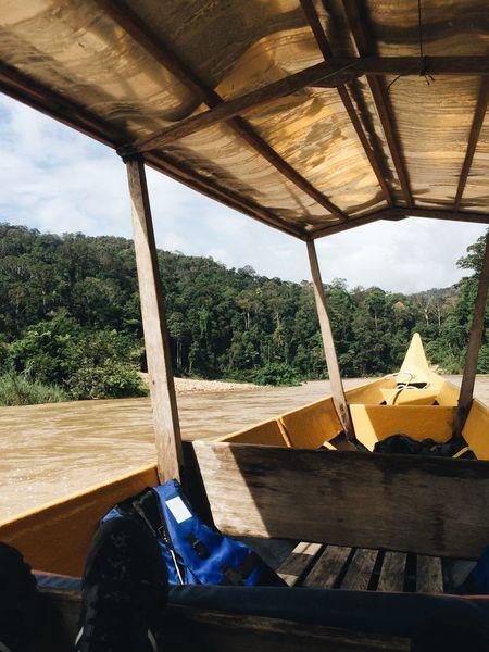 Bot Pancung Kayaking Boat Taman Negara National Park Plant Nature Sunlight Day Architecture Built Structure Outdoors Water
