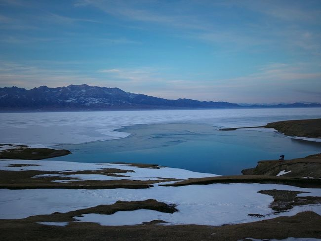 Sign up and #Download #Free Lo-Res #Backgrounds images for your for #creative #layout now Learn more: garageimg.com GI-HST-1590215-009307 Beauty In Nature Frozen Lake Landscape Mountain Nature Reflection Sky Snow Tranquil Scene Tranquility Water Winter