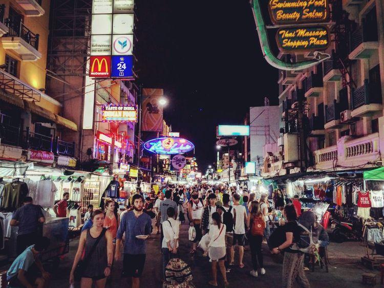 Khosan Road, take me home ... Bangkok Khoasanroad People