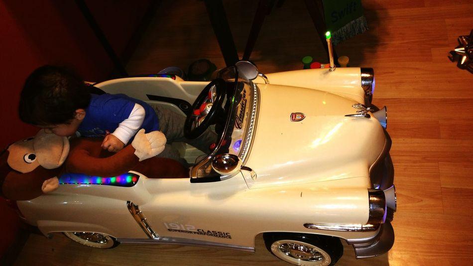 First car and first kiss.. First Kiss First Car 1 Year Old Christmas Eve
