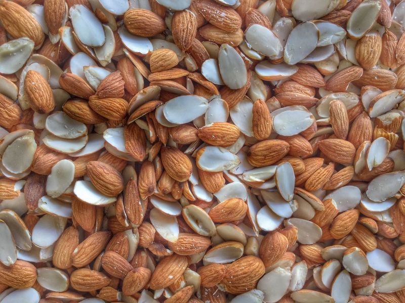 Almond Almond Almonds Healthy Eating Abundance Large Group Of Objects Nut - Food Full Frame Food Close-up Backgrounds Freshness Food And Drink No People Dried Fruit Walnut Variation Cashew Indoors  Day