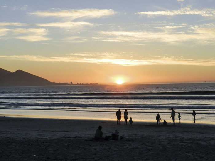 Sunset on the