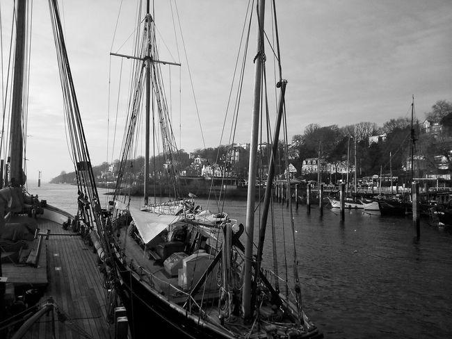 Blackandwhite Wunderontour Hamburg Harbour
