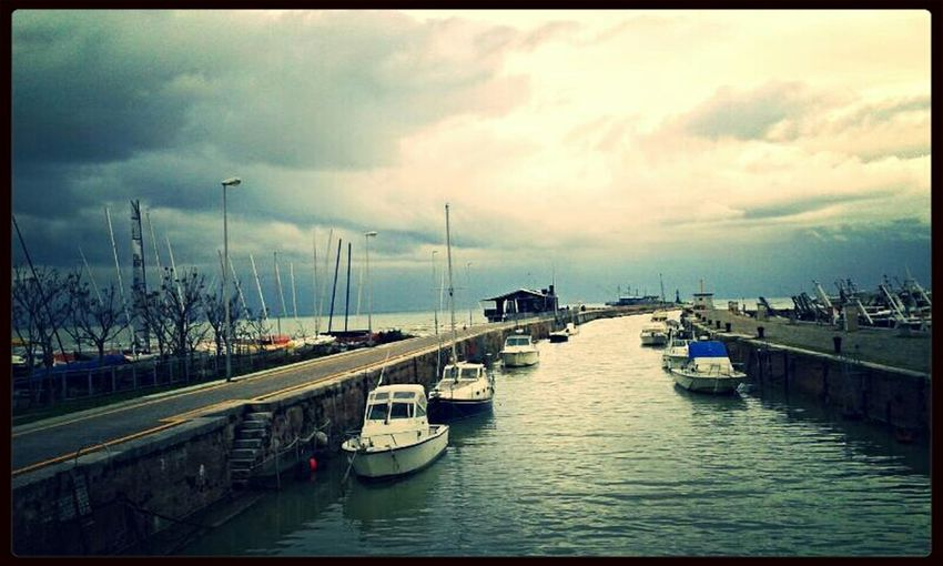 Fano Winter Cityscapes Sea And Sky Boats Harbour Clouds And Sky My Noir Life Autumn