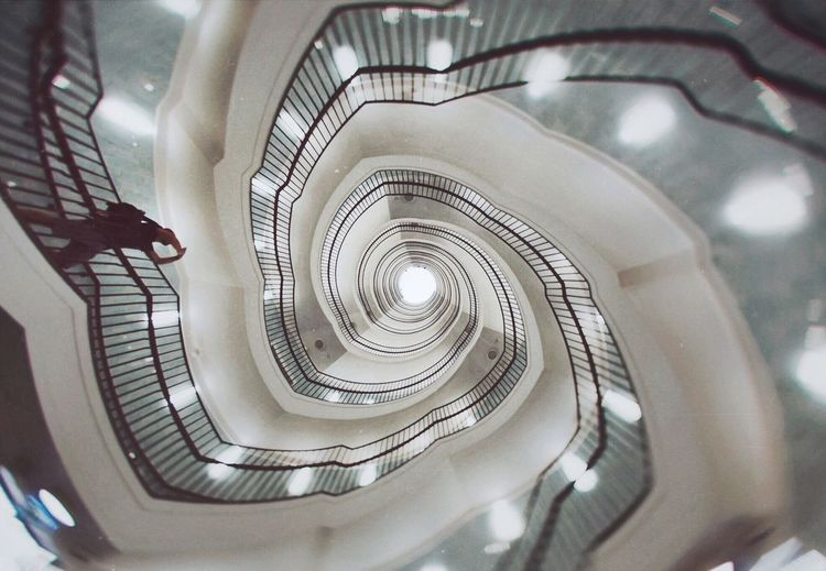 Architecture Modernism Spiral Staircase Spiral Lookingup Architecture_collection EyeEm Best Shots EyeEm Selects Staircase