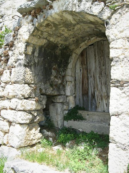 Stone Cottage Stone Buildings Stone House Stonewall Archway Doorway Doorways Traditional House Mountain Village Croatia Doorway, Door, Wall, Stone, Gateway, Portal