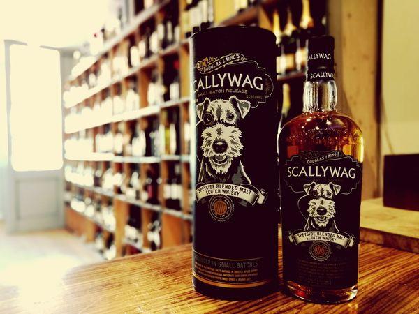 Scallywag Alcohol Bottle Shelf Stockton Heath Whiskey