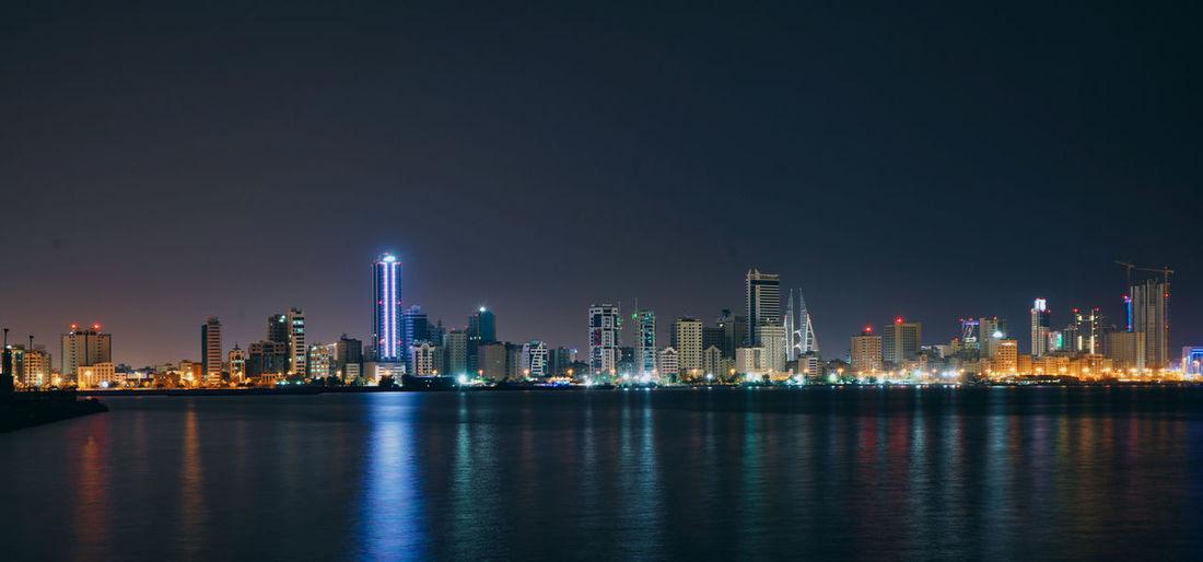 Night time citylights