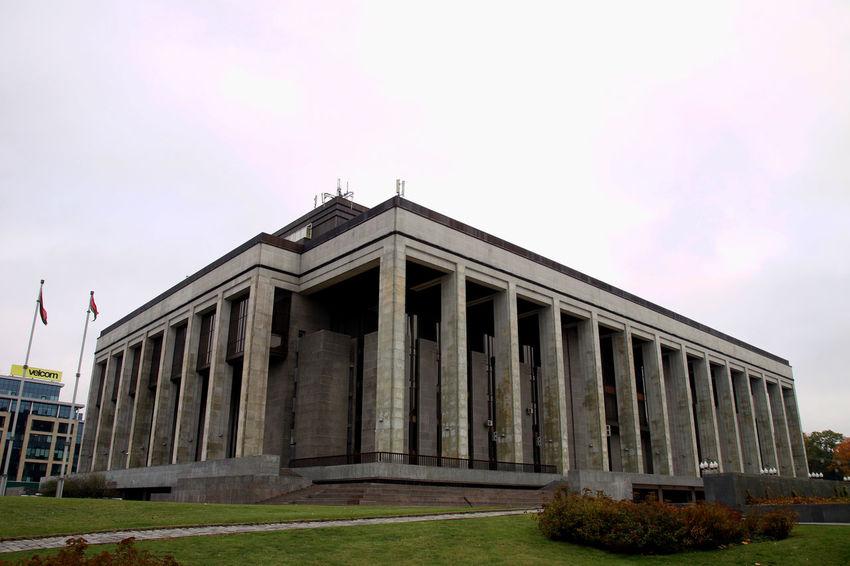 Autumn Autumn Colors Belarus Soviet Era Monumental  Soviet Soviet Architecture Travel Destinations
