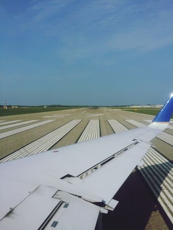 Leaving Bishop International Airport via runway 27. Up, Up And Away Taking Photos Streamzoofamily