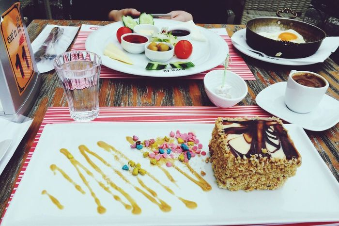 We had good time wth old friend~ With My Friend Breakfast ♥ Eating Healthy GoodTimes Sunnyday
