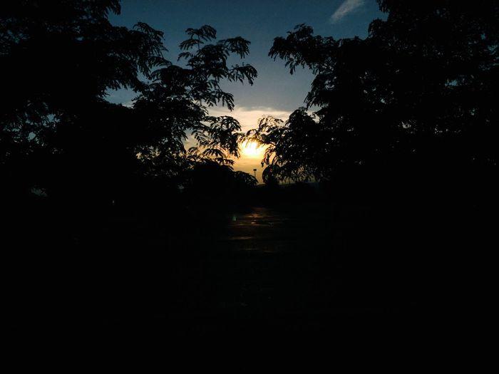 Beautiful Nature Sunset Newmexico