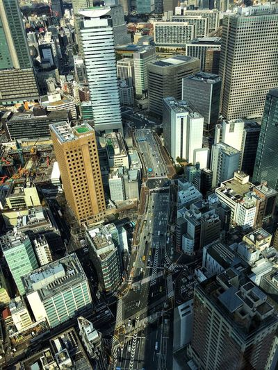 City view Skyscraper Tokyo Skyscraper Cityscape Architecture Building Exterior City Aerial View High Angle View Modern Tower Skyline Crowded Tall Downtown Development Built Structure Travel Destinations Outdoors Growth Urban Skyline Day Mobility In Mega Cities