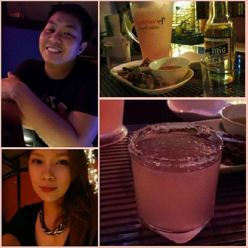 Super fun last night! always a lady in the street ang peg 🍻😘 Datenighteverynight