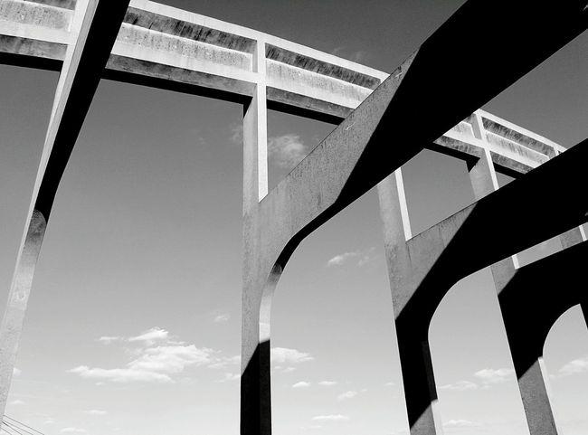 Bridge Walking Around Streetphoto_bw Sky