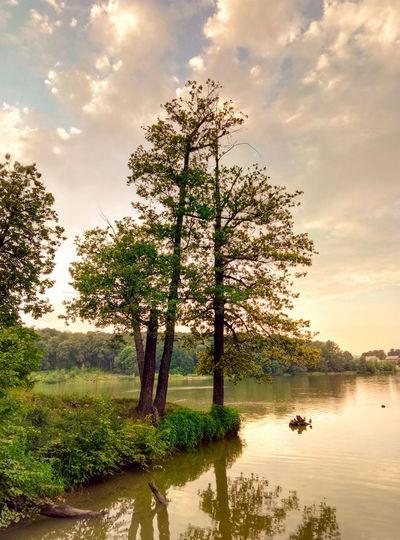 Nature Water Outdoors Lake Tree Summer Sky