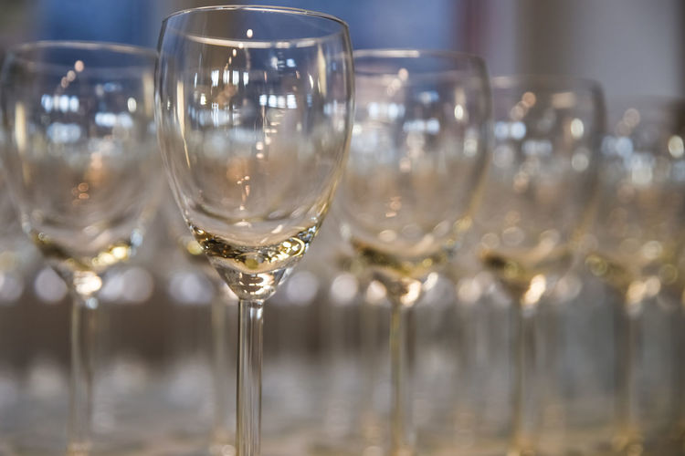 Beverages Drinks Byob Celebration Champagne Champagne Flute Cheers Close-up Drink Drinking Glass Drinks Menu Event Focus On Foreground Food And Drink Glass Glass - Material Hospitality In A Row Luxury No People Refreshment Transparent Wine Wineglass