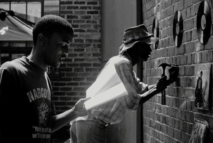 Black And White Art Black Poetry Pretoria Old Fire Station Beat Ware House Radio Jazz Sunday