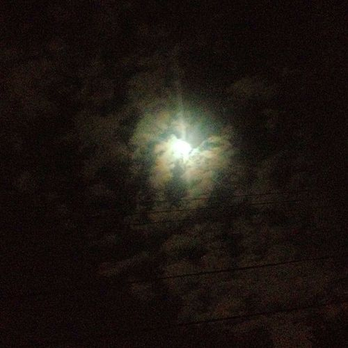 The sky is amazingly still but the universe is shifting... Can you feel it? MonsterMoon