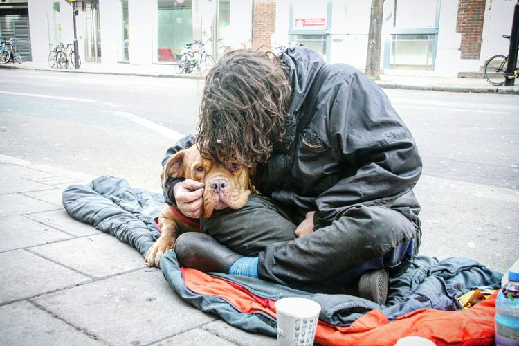 Homeless mans best friend in London Togetherness Care Homeless Homeless Person Homeless Dogs London Streets Homeless Man Popular Trending Photos Eyeem Market EyeEm Gallery EyeEm Team EyeEmBestPics Social Issues London Love EyeEmNewHere Long Goodbye Resist TCPM The Street Photographer - 2017 EyeEm Awards The Photojournalist - 2017 EyeEm Awards BYOPaper! Place Of Heart EyeEm LOST IN London Investing In Quality Of Life Pet Portraits Rethink Things Be. Ready. Press For Progress This Is Masculinity Stories From The City Focus On The Story The Street Photographer - 2018 EyeEm Awards The Photojournalist - 2018 EyeEm Awards