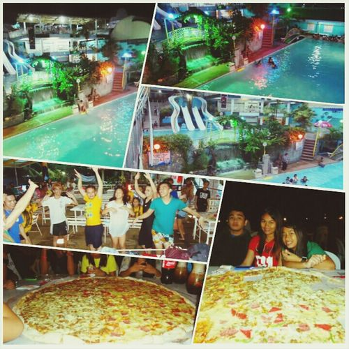 Take a dip at Timoga Pool with family and friends on a weekend and eat a 36 inches four flavored pizza at Calda Pizza Iligan City Philippines. How about you? Where Do You Swarm? Pool Party Pizza Party!