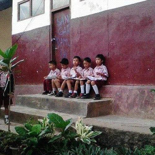 School, Breaktime, Togetherness