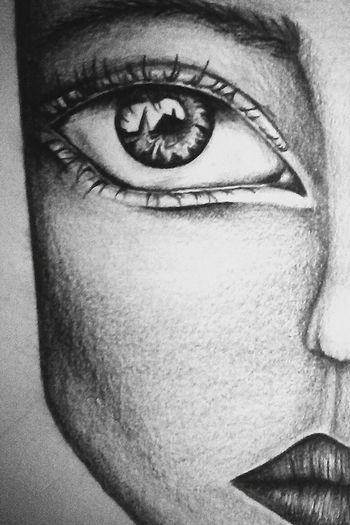 Drawing Eyes Blackandwhite