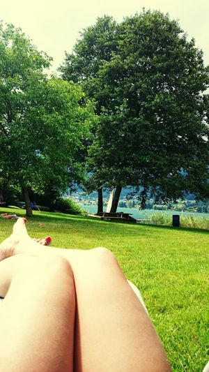 Summer 2016 Nature Tree Beauty In Nature Sensual_woman Sensualwoman Sensual_photo Legs Legselfie Legs_only Day EyeEm Nature Lover Outdoors Human Body Part People Women Close-up Freshness Lake Water