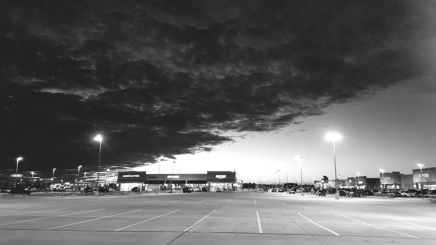 Parking Lot Clouds