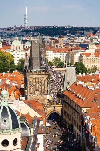 Crowded Prague