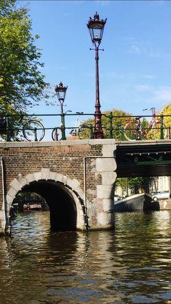 Amsterdam Canal Water Bridge Bridge - Man Made Structure Connection Built Structure Architecture River