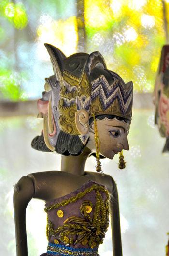 Wayang Golek Indonesia INDONESIA Javanese Javanese Culture Culture Wayang Golek Wayanggolek Statue Elephant Tradition Gold Colored Venetian Mask Carnival - Celebration Event Traveling Carnival Traditional Festival Costume Sculpture HEAD Mythology Mask Traditional Dancing