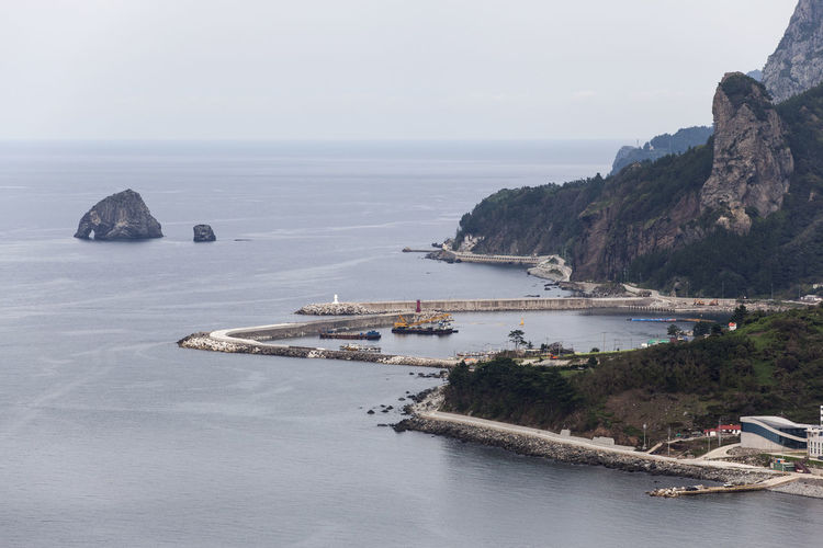 Ulleungdo is the most mysterious island. It is located at East Sea of South Korea. I have been there for 13 days for photo travel. Aerial View Beauty In Nature Calm Cliff High Angle View Horizon Over Water Nature Nautical Vessel No People Non-urban Scene Outdoors Remote Rock Formation Scenics Sea Seascape Seaside Sky Taeha Tourism Tranquil Scene Tranquility Ulleungdo Water Waterfront