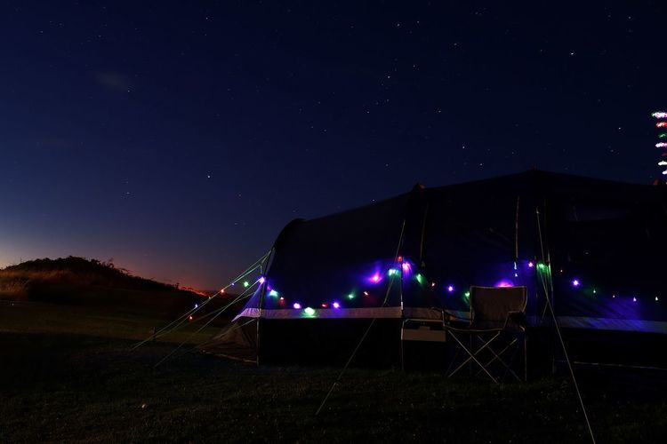 Twinkle Twinkle Holiday Vacation Tent Camping Night Illuminated Star - Space Astronomy Star Field No People Nature Sky Scenics Outdoors Beauty In Nature Starry Space Galaxy