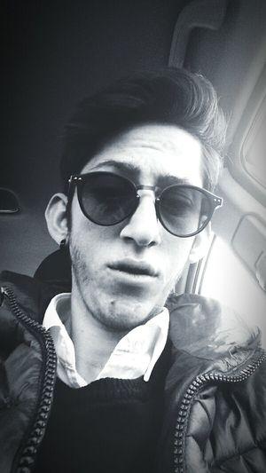 Cool Blackandwhite Dark Portrait Selfie ✌ Good Day Good Times Skate Life Helloworld Self Portrait Nice Glasses 😎😎