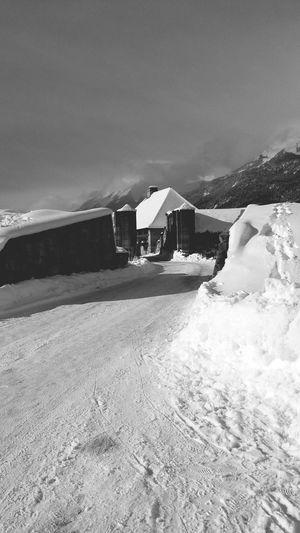 Neige❄ My Village Vauban Alpes Noir Et Blanc En Ballade