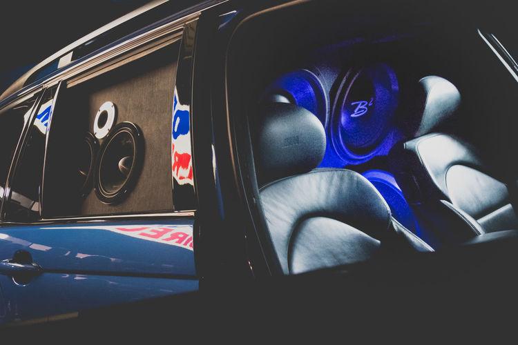 Blue Car Car