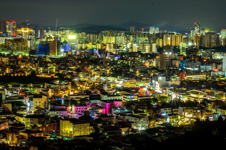 Cityscape at night, skyline and skyscraper, South Korea. Architecture Cityscape Famous Night Lights Night Photography South Korea Suwon, Korea Tourist View Architecture Building Building Exterior City Colorful Colorful Sky Illuminated Landscape Long Exposure Night Night Sky Night View Outdoors Urban Urban Skyline