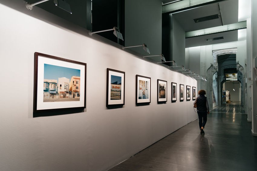 Photography exhibition in Cibeles Palace in Madrid Architecture Centro Cibeles Palace City Hall Madrid Madrid Spain SPAIN Centrocentrocibeles Culture Day Europe Exhibition Gallery Indoors  Leisure Activity One Person People Real People Travel Walking