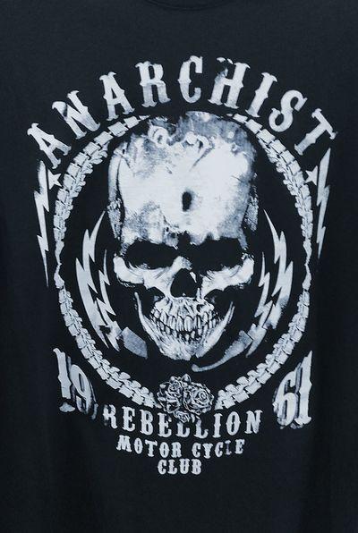 Rebellion Motorcycle Club Anarchist Skullshirt SkullTshirts Tshirts Tshirtporn Tees Teeshirt T Shirt Skullduggery Tshirt Skull T Shirts Tshirtcollection Tshirt♡ T Shirt Collection T Shirt Art Skulls💀 Anarchists Skull Skulls♥ Skulls Skullart Skull Art Skulls 💀 Skullporn