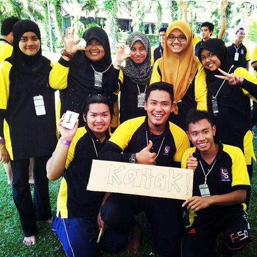 The katak team..we won.. Zara JPK &seki Inderasakti Uitmdihatiku