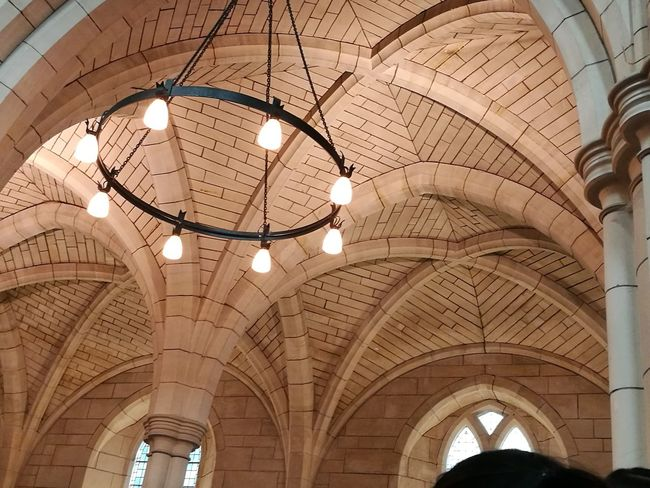 Ceiling Indoors  Arch Architecture Low Angle View Hanging Built Structure Illuminated Dome No People Day EyeEmNewHere