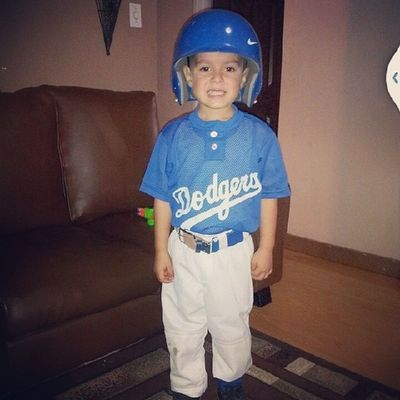 Next MLB professional ! Elias Nephew  Dodgers Baseball minigerman uncle