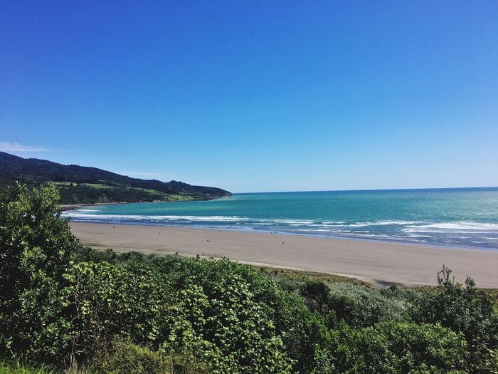 When getting lost turns into paradise Raglan New Zealand Paradise Sea Beach Nature Tranquil Scene Water Beauty In Nature Scenics Tranquility First Eyeem Photo
