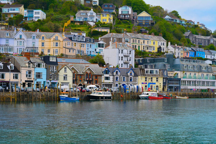 Looe houses looking over the water. Dream home Hello World Landscape Scenery Shots Scenery Cornwall Cornwall Uk Looe Beautiful Relaxing River Water Building Peasefull