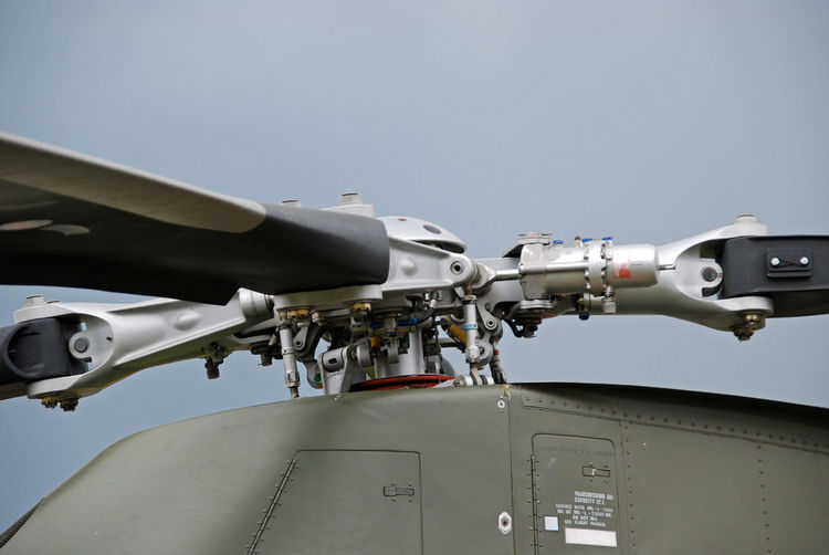 Aerospace Industry Air Vehicle Helicopter Hubschrauber  No People Rotor Rotor Vom Helicopter Rotorblatt Rotorblätter