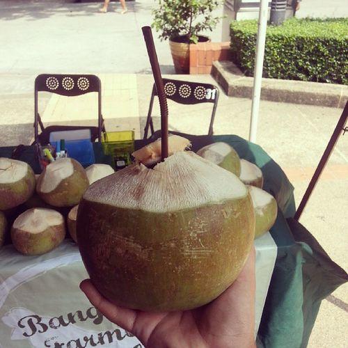 Fresh na fresh buko juice! Organicday