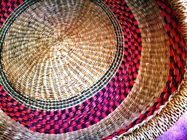 Pattern Textile No People Backgrounds Close-up Outdoors Day Rattan Decorative Art Decorations basket Baskets Hand Made Artisanat Handcrafted Popular Art