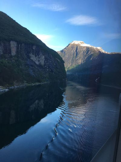 IPhone Travel Destinations Travel Photography Geiranger Fjord Norway Norwegian Cruise Norwegian Star