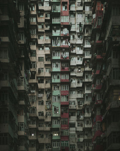 Hong Kong Hong Kong City Hong Kong Architecture HongKong Hongkong Photos Architecture Building Exterior Crowded Density Windows Windows_aroundtheworld